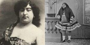 19.Yüzyılda, 145 kişinin peşinden koştuğu iranlı prenses
